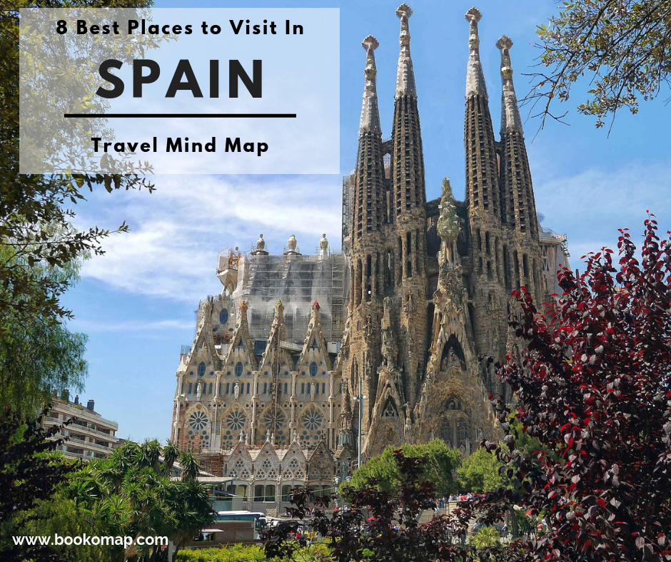 8 Best Places To Visit In Spain Travel Mind Map Bookomap,Quiz Printable Color Personality Test
